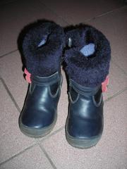 Зимняя обувь р-р 26,  27 28