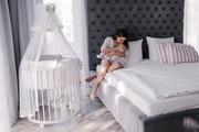 Детская кроватка из массива дуба (8 в 1)
