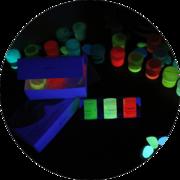 Флуоресцентная краска универсальная